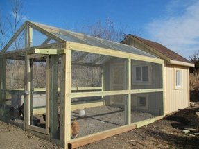 Chicken coop with run 1