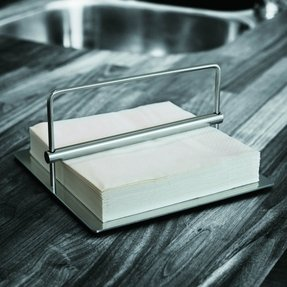 Contemporary napkin holder