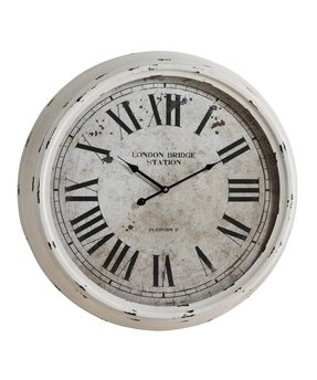 White Wall Clocks Foter