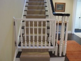 Easy Open Baby Gates For The Stairs Interior Furniture Decoration