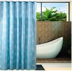 Eforgift 72 Inch By 78 Waterproof Fabric Shower Curtains Ocean Sea Shells