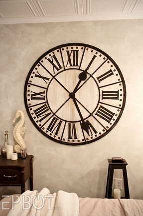 Extra large wall clocks classic