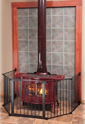 Fire place gate