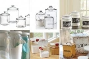 Flour sugar canisters