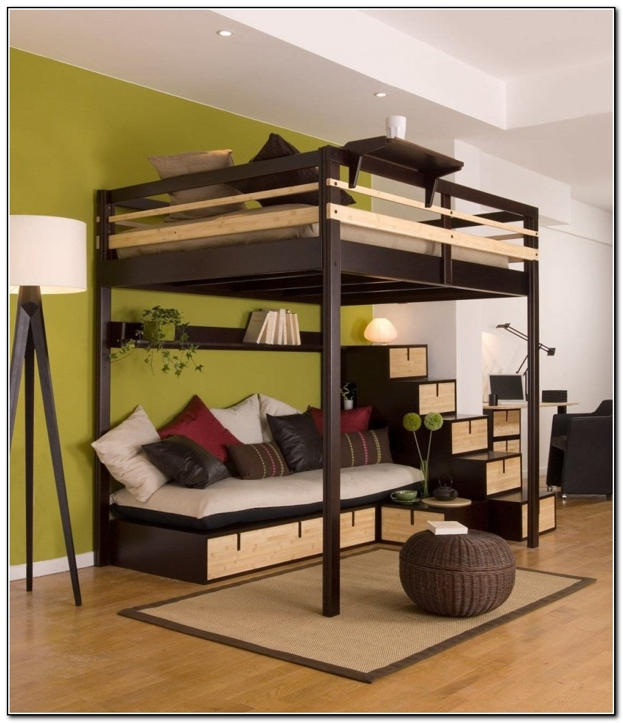 Merveilleux Full Size Bunk Bed With Desk   Ideas On Foter