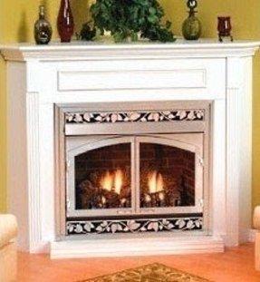 Corner Ventless Gas Fireplace Foter