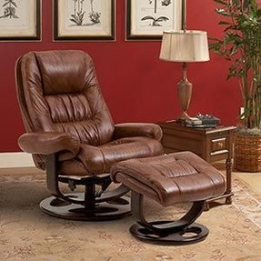 Lane leather recliners 8