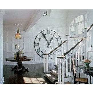 Large diameter wall clocks