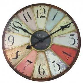 Large retro wall clock 2