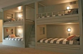 Low profile bunk beds 1
