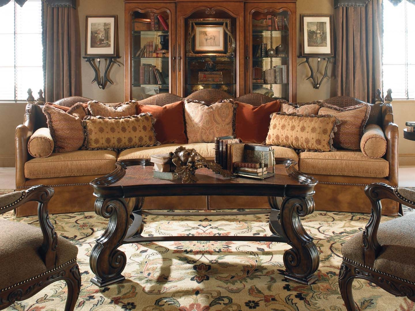 Attractive Old Fashioned Living Room Furniture