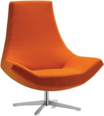 Beau Orange Swivel Chair Psd Detail