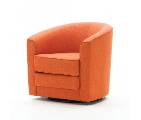 Orange Swivel Chairs 14