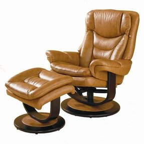 Ottoman lane leather essentials impulse leather recliner ottoman