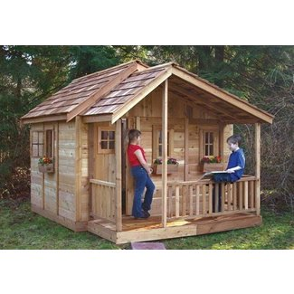 Wood Playhouse Kit Ideas On Foter