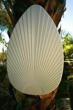Ceiling fan blade covers foter palm leaf shaped ceiling fan blade covers sand 15 w aloadofball Image collections