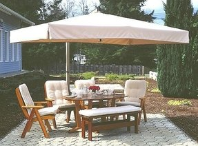 patio umbrellas offset umbrella rectangle taupe frame - Rectangle Patio Umbrella