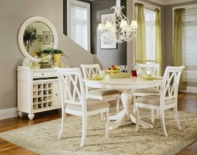 Round White Pedestal Dining Table - Ideas on Foter