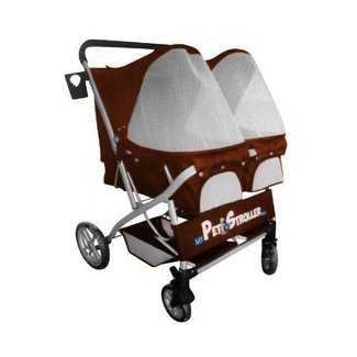 Pet buggy wheeled pet carrier