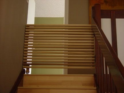Amazing Pull Out Stair Gate