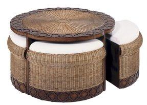 Awe Inspiring Rattan Coffee Table With Storage Ideas On Foter Dailytribune Chair Design For Home Dailytribuneorg