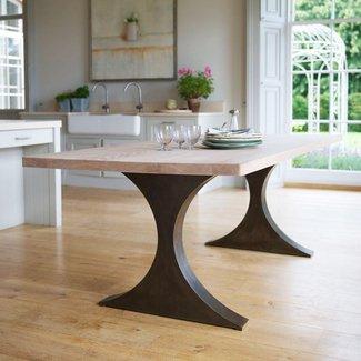 rectangular kitchen tables with pedestal