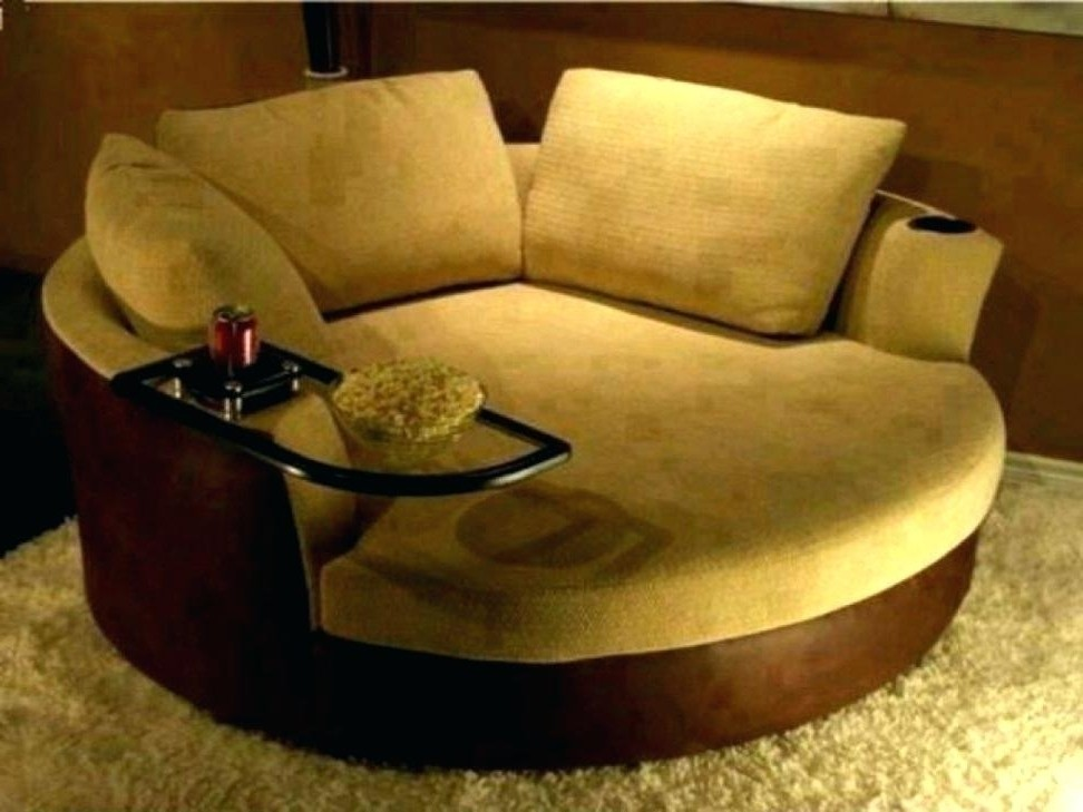 Nice Round Comfy Chair