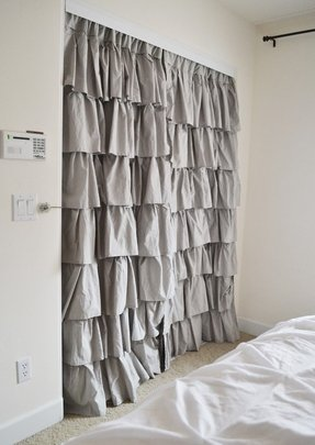 Ruffle curtains