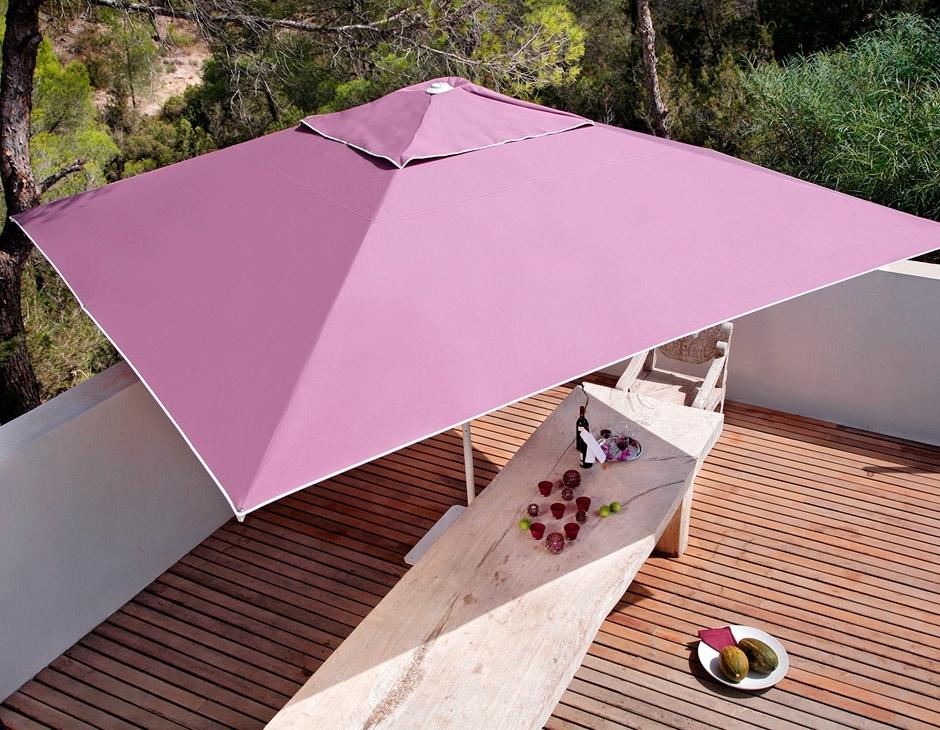 Samara Rectangular Patio Umbrella Outdoor Umbrellas