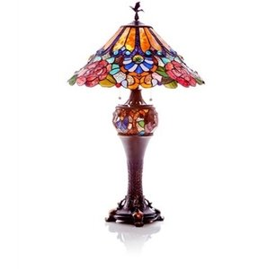 Stained Glass Accent Lamp Foter