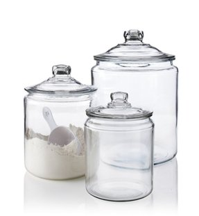 Sugar canister with spoon