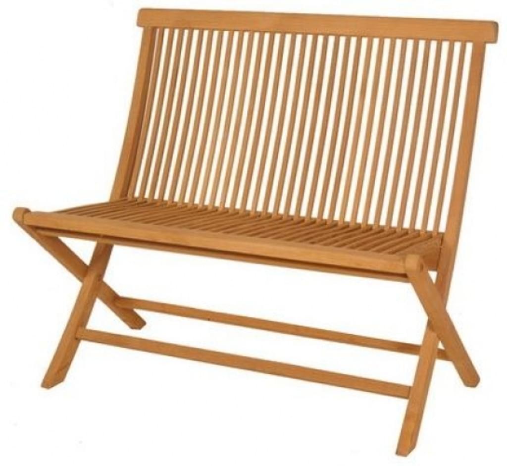 Teak Folding Garden Bench