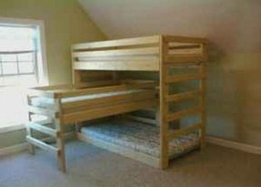 100 Triple Bunk Beds For Sale Foter