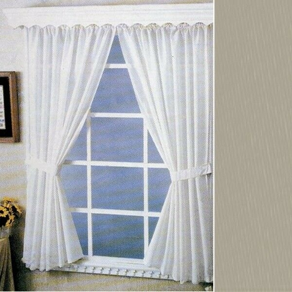 Vinyl Water Repellent Window Curtain By Carnation