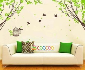 Wall decal wall stickers tree wall