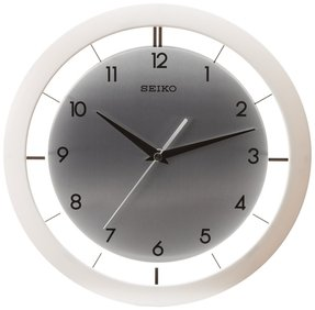 White wall clocks