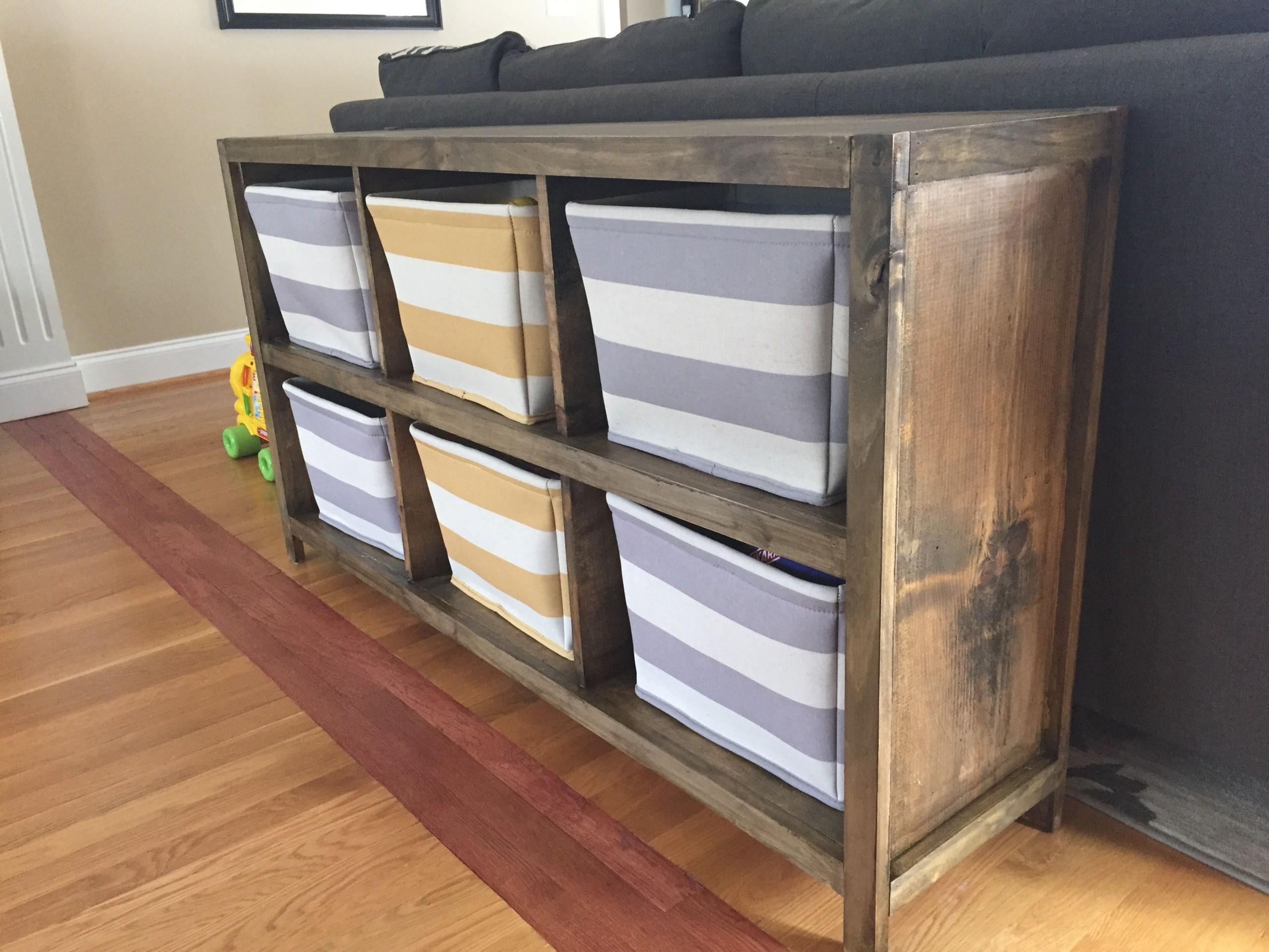 Wood Cube Storage 9