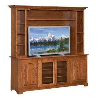 Wood tv stand designs