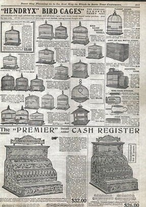 1910 ad premier brand cash register candy store size hendryx