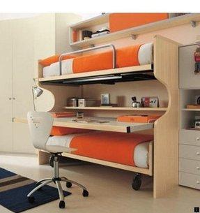 Full Size Loft Bed With Desk Underneath Foter