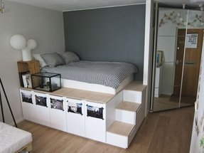 Beds with stairs