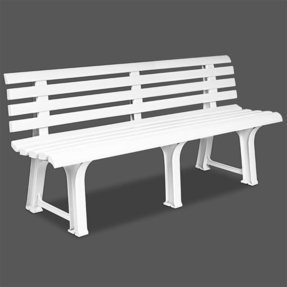 Astonishing Plastic Patio Benches Ideas On Foter Spiritservingveterans Wood Chair Design Ideas Spiritservingveteransorg