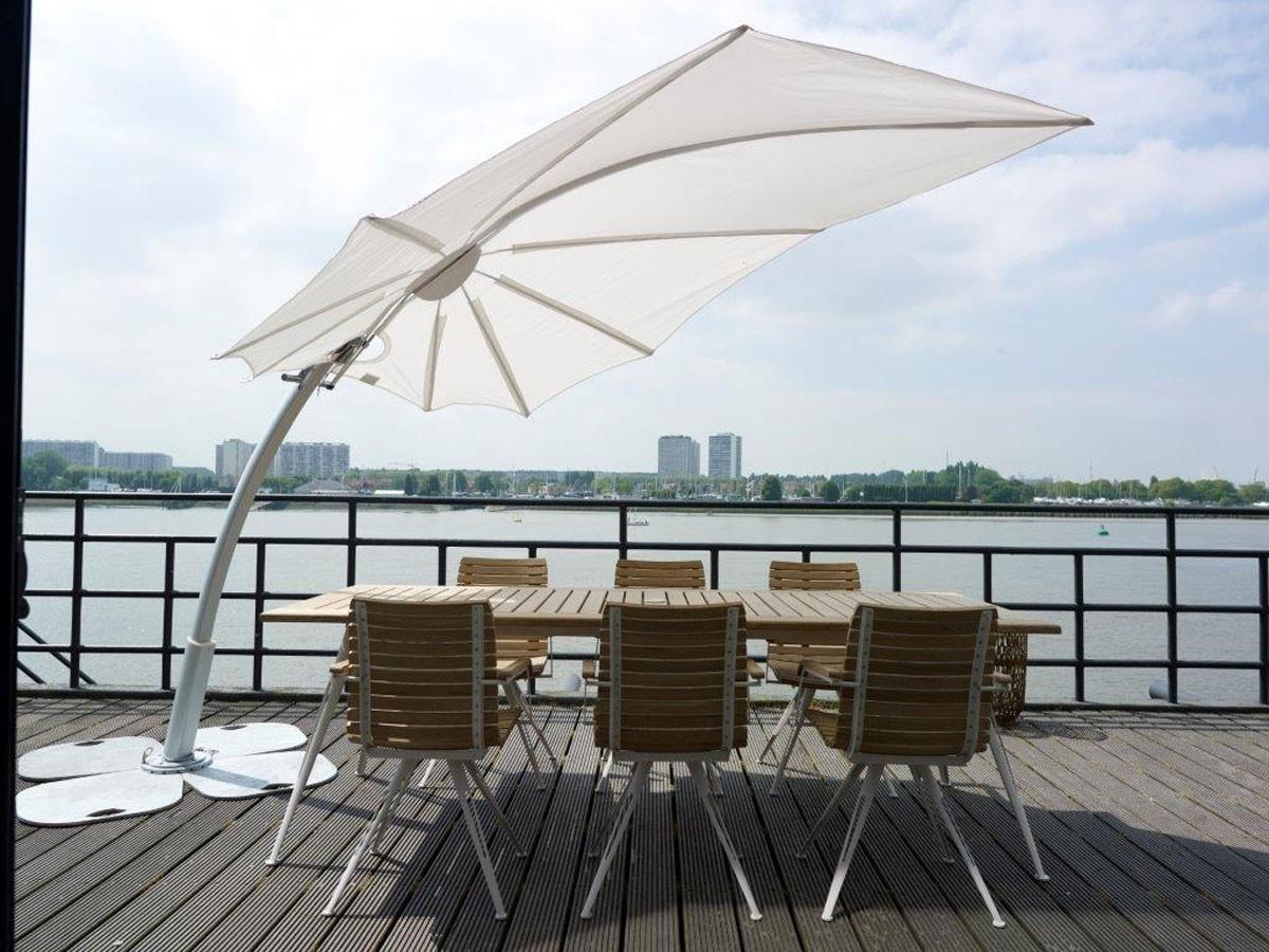Superbe Wind Resistant Patio Umbrellas   Foter