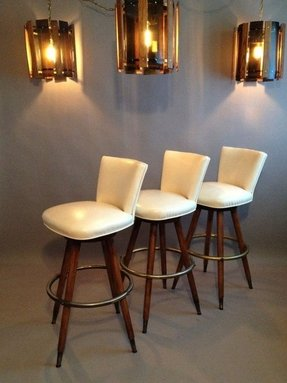 Green Leather Bar Stools Foter