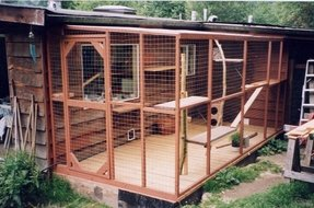 Cat play pen 3