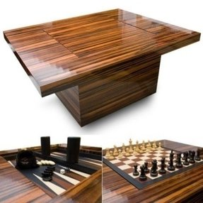 Chess coffee table 13