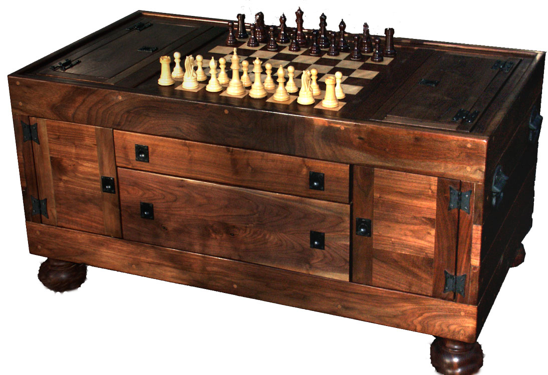 Captivating Chess Coffee Table 3