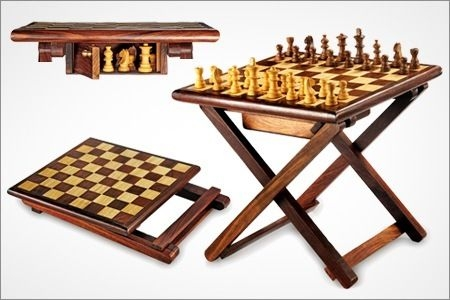 Great Chess Coffee Table 5