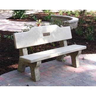 Concrete memorial benches 1