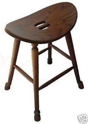 Oak Saddle Seat Bar Stool Foter